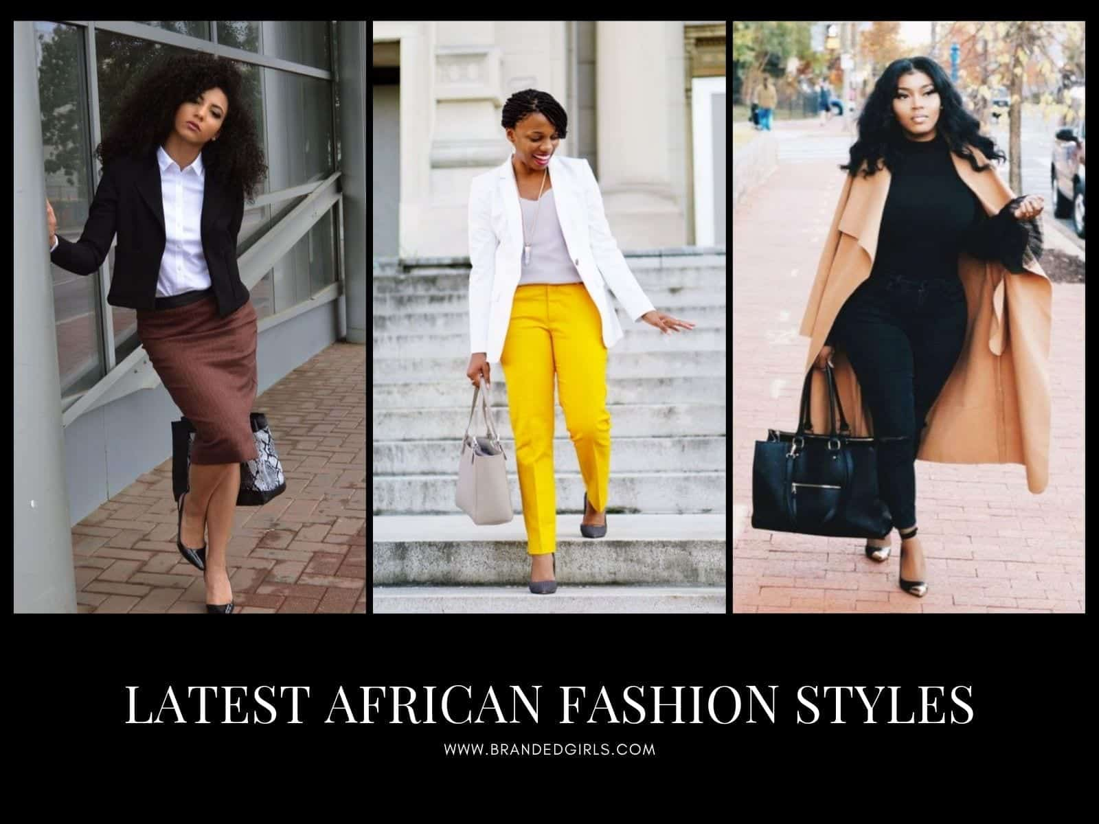 Latest-African-Fashion-Styles Modern African Dresses-18 Latest African Fashion Styles 2019