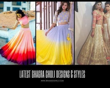 Latest Ghaghra Choli Designs