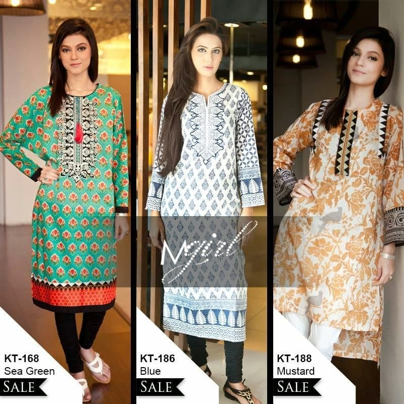 MariaB1 Latest kurti designs 2017 from top 15 kurti designers these days