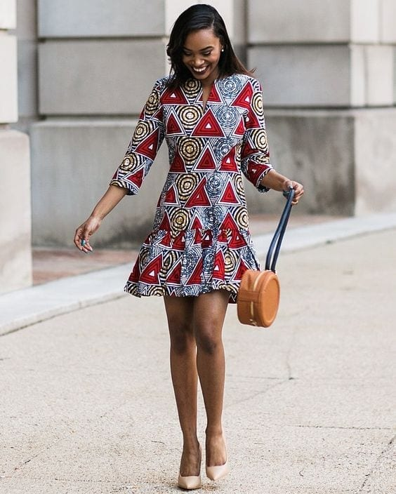 Short-Professional-Outfits Work Outfits for African Women-25 Professional Attires