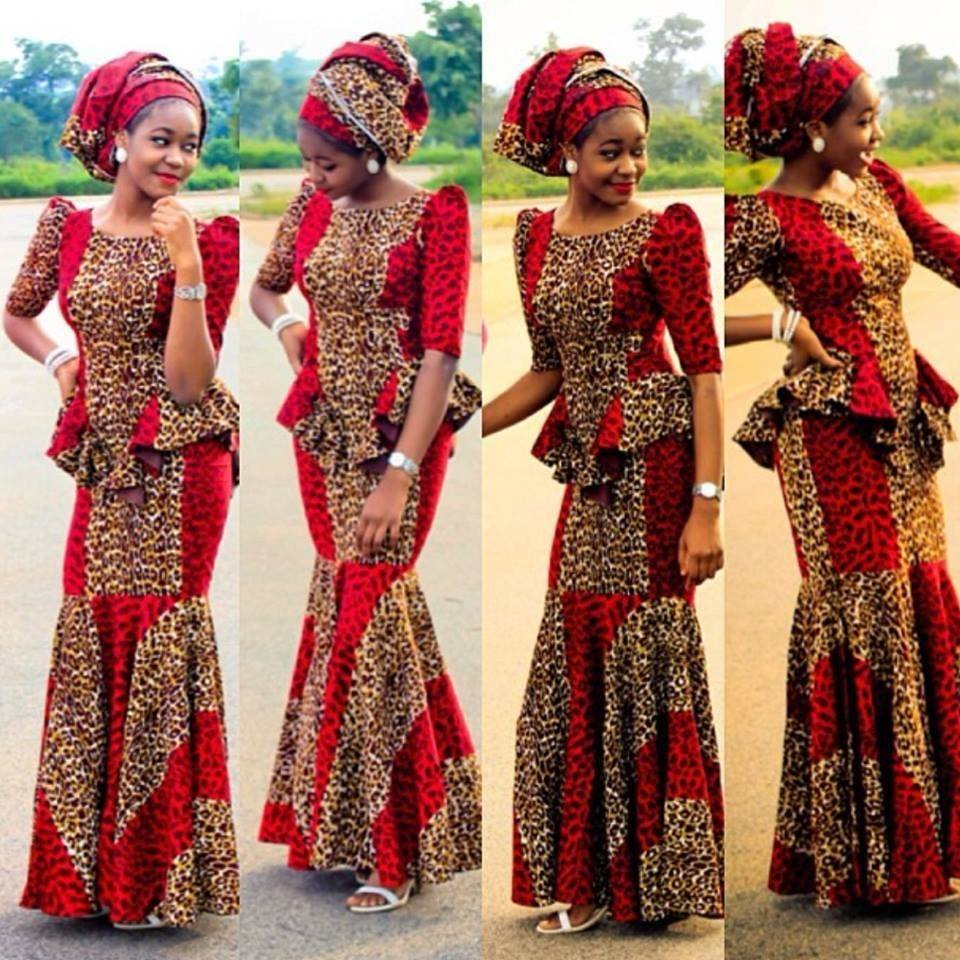 Traditional-Ankaras-for-Wedding Ankara Styles for Wedding-17 Cool Ankara Dresses for Wedding 2019