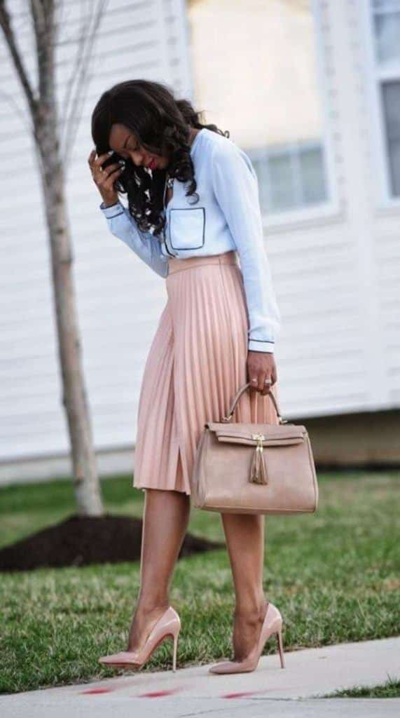 Work-Outfit-for-Summers-571x1024 Work Outfits for African Women-25 Professional Attires