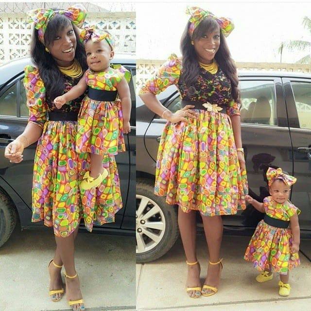 a-summer-ankara-dress African Dress Styles for Kids-19 Cute African Attire for Babies