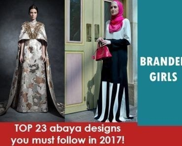 abaya designs for 2017
