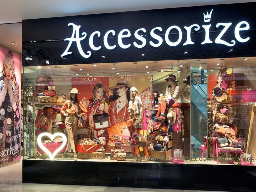 accessorize-in-pakistan International Brands in Pakistan–List of all Foreign Brands in Pakistan