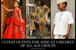African Dress Styles for Kids 39 African Attire for Babies