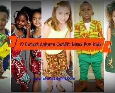 ankara outfit ideas for kids and babies
