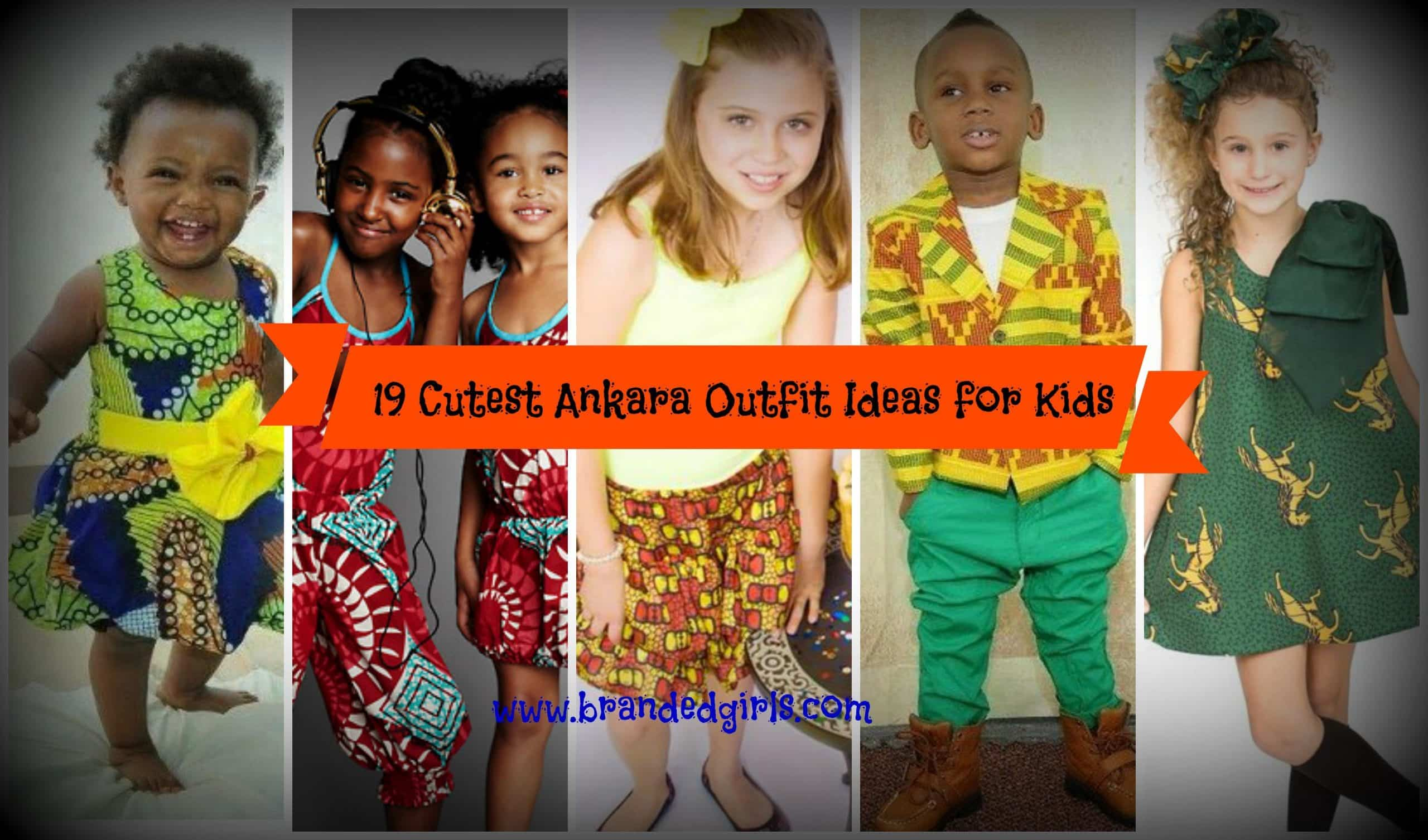 Ankara Styles For Babies 19 Adorable Ankara Dresses For Kids 2018