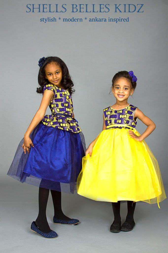 ankara-silk-and-tulle-dress-682x1024 African Dress Styles for Kids-19 Cute African Attire for Babies
