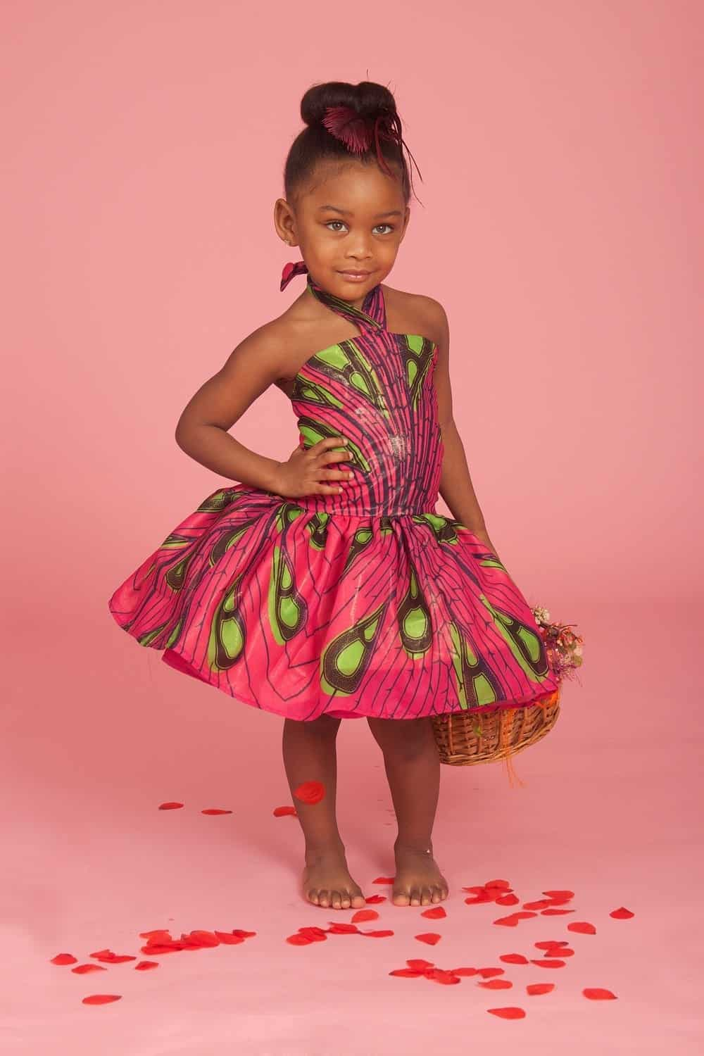 African Dress Styles For Kids-19 Cute African Attire For