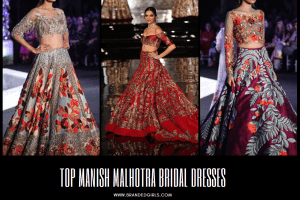 Latest Manish Malhotra Wedding Dresses