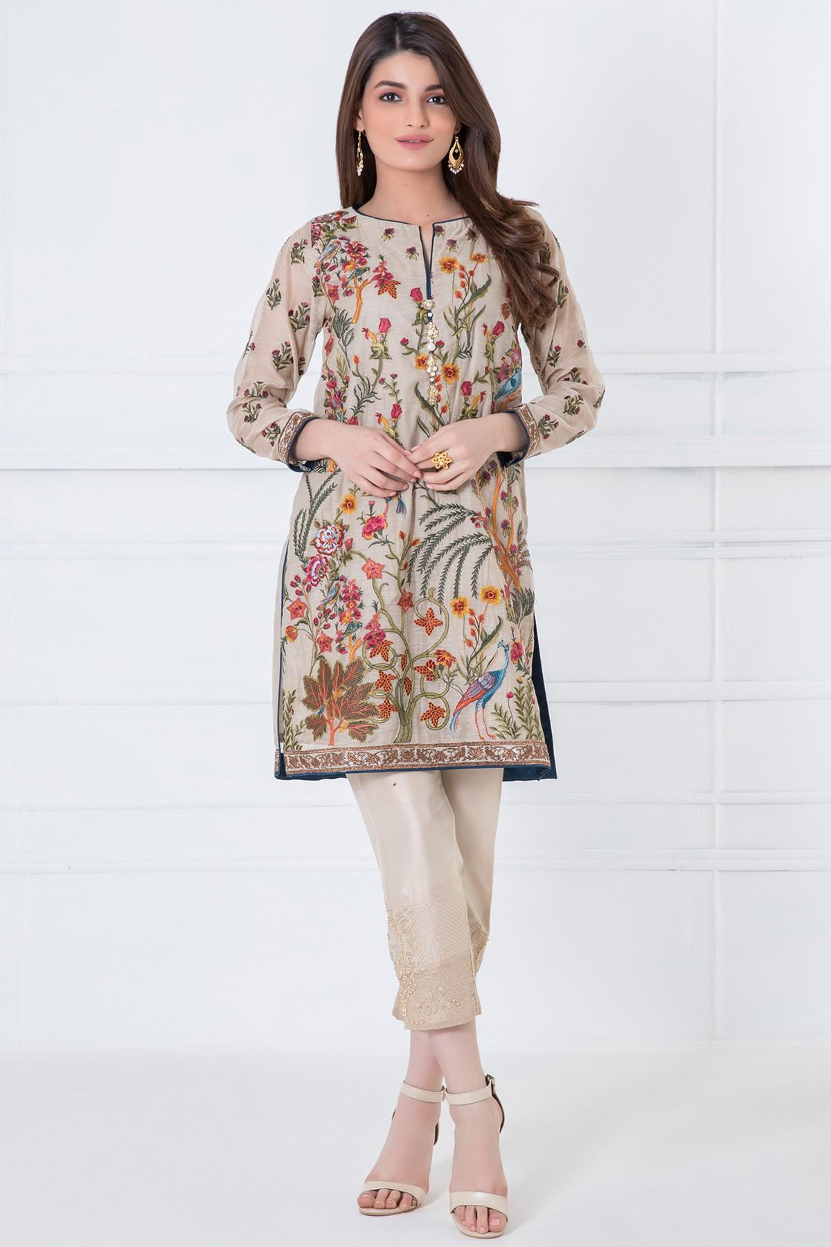 khaadi2 Latest Kurti Designs 2019 From Top 20 Kurti Designers These Days