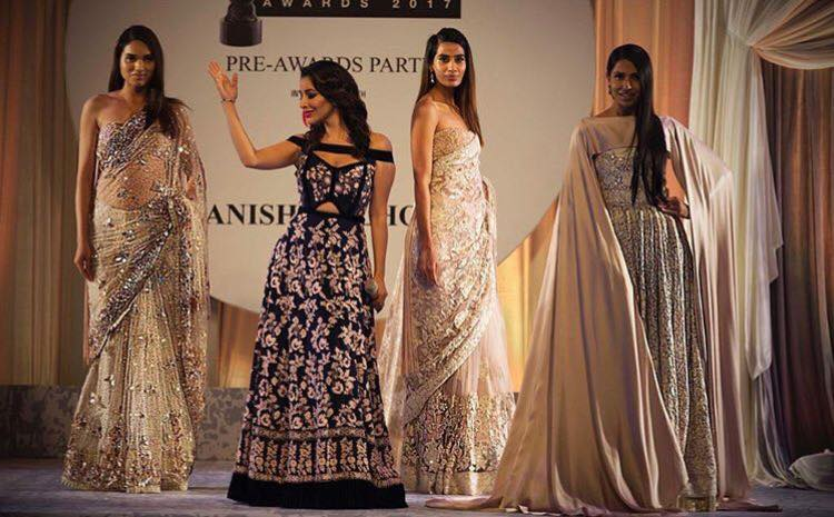 manish-malhotra-sarees-first-show-2017 Latest Manish Malhotra Sarees 2017 Collection-Top 28 Sarees by Manish