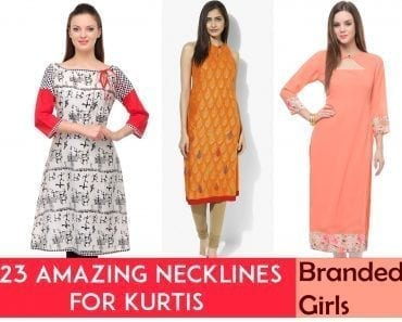 necklines for Kurtis this year