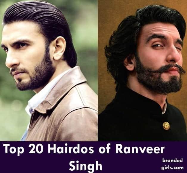 ranveer-hairdos Ranveer Singh Hairstyles-20 Best Hairstyles of Ranveer Singh