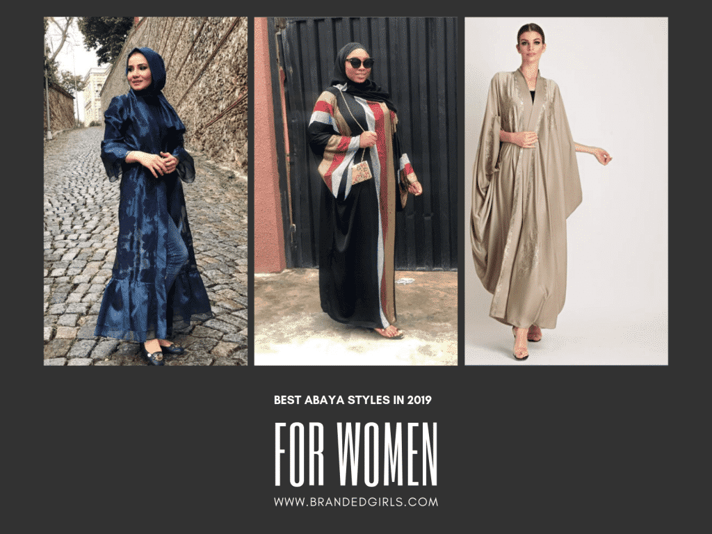 BEST-ABAYA-STYLES-1024x768 2019 Abaya Designs - 26 New Abaya Styles for Stylish Look