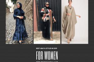 Best Abaya Styles For Women In 2019 (1)