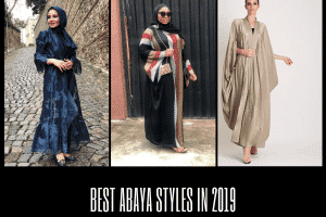 Best Abaya Styles In 2019 For Women (1)
