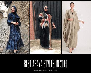 Best Abaya Styles In 2019 For Women (1)