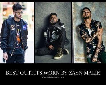 Outfits Worn by Zayn Malik