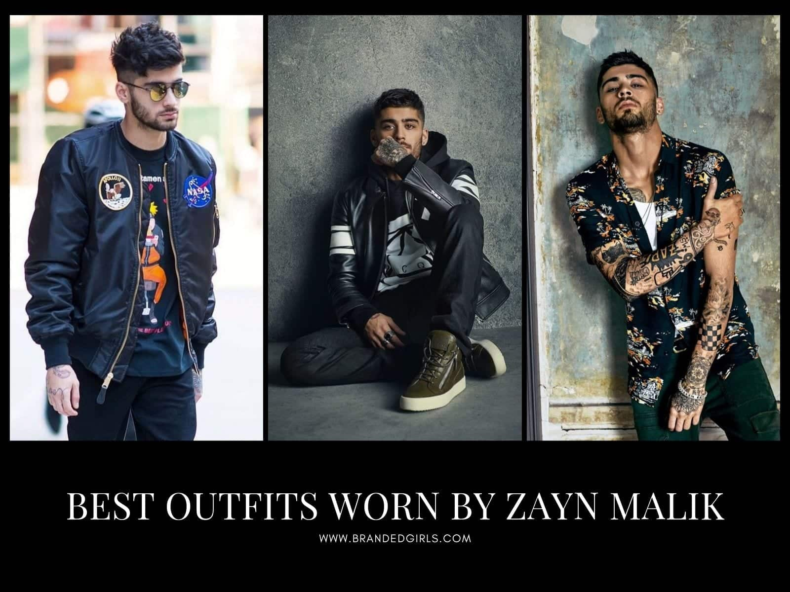 Best-Outfits-Worn-by-Zayn-Malik Zayn Malik Outfits - 20 Best Outfits & Looks Of Zayn Malik