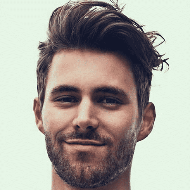 Loose-Pompadour-Style Hairstyles for College Guys-25 New Hair Looks to Copy in 2019