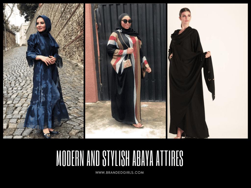 STYLISH-ABAYA-ATTIRES-1024x768 2019 Abaya Designs - 26 New Abaya Styles for Stylish Look