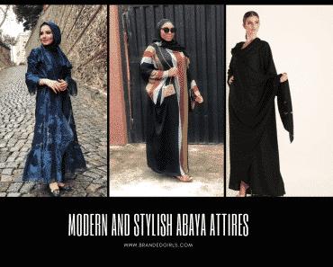 Modern And Stylish Abaya Attires (1)