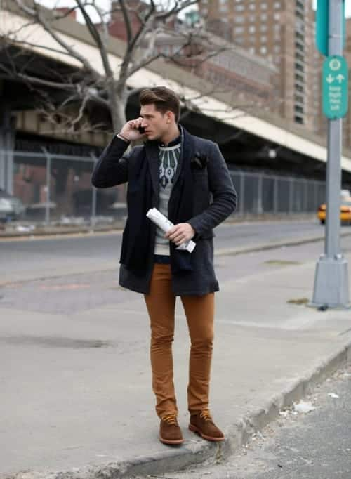 Slim-Khaki-Jeans Jeans for Skinny Guys-15 Perfect Ways to Wear Jeans Skinny Guys