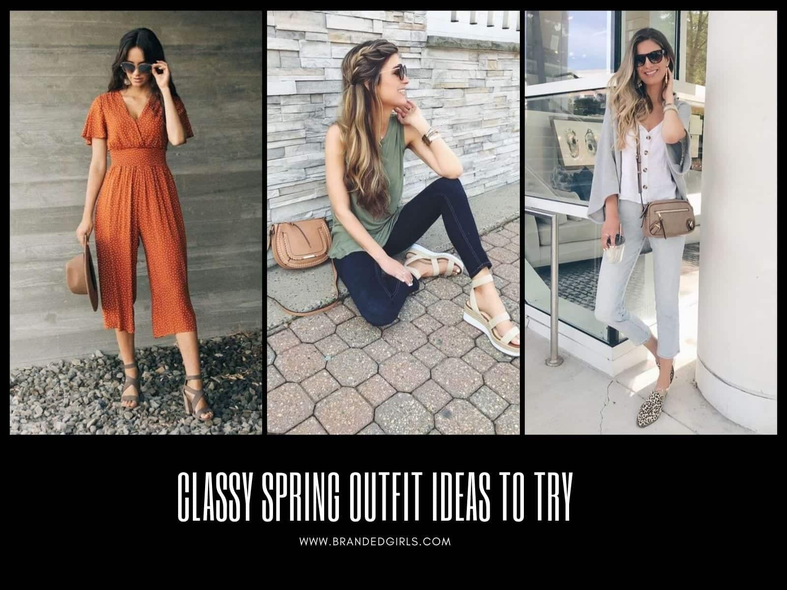 Spring-Outfits 2020 Spring Outfits Ideas for Women - What to Wear in Spring ?