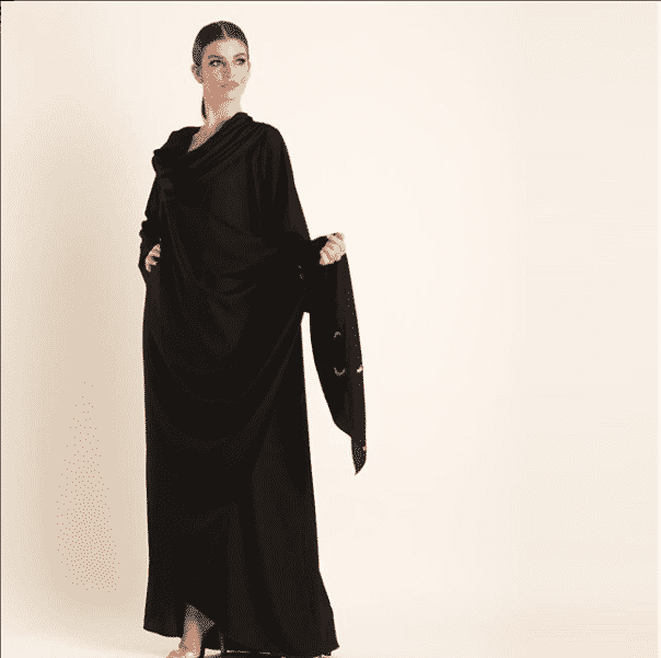 drape-style-abaya 2019 Abaya Designs - 26 New Abaya Styles for Stylish Look