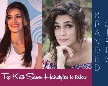 kriti sanon hairstyles