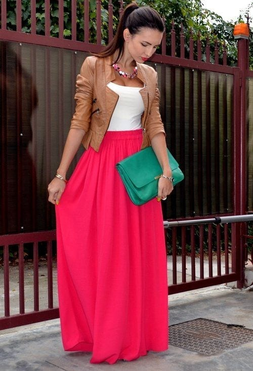 red-skirt Church Outfits Ideas for Teenagers-17 Ways to Dress for Church