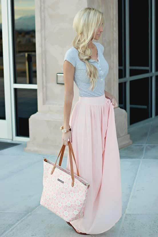 t-shirt-skirt Church Outfits Ideas for Teenagers-17 Ways to Dress for Church