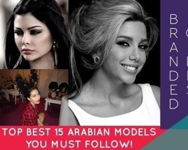 top best arabian models to follow