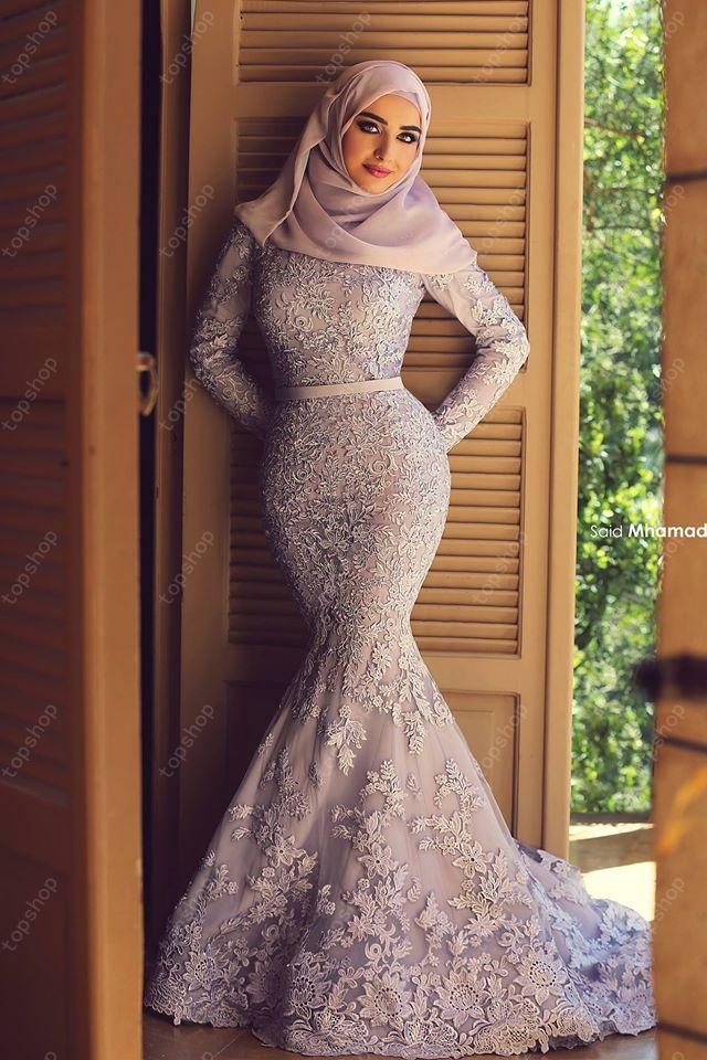 522f91b0ba356c3a7ac45678ce1bad0d 21 Prom Outfit Ideas with Hijab - How to Wear Hijab for Prom