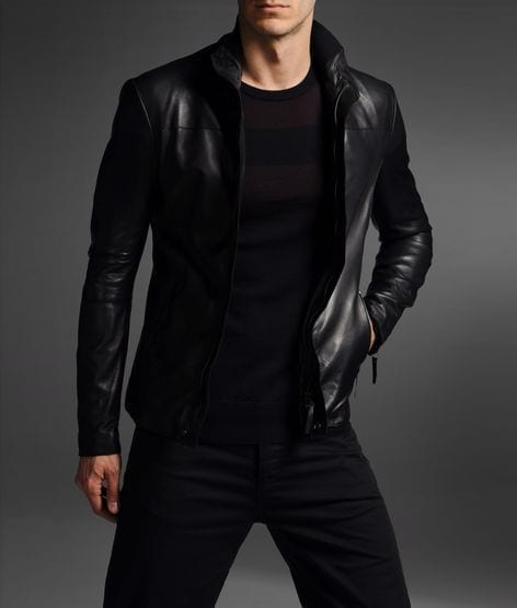 Armani-Zipped-Jacket Top Brands for Leather Jackets-15 Most Popular Brands 2018 for Men