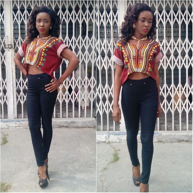 Casual-Ankara-Tops Cute Ankara Styles- 18 Latest Ankara Fashion Ideas for Teens