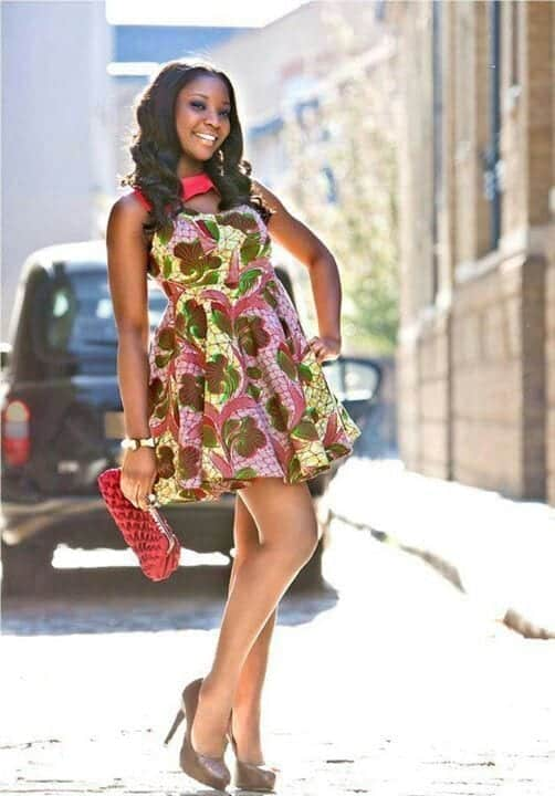 Enchanting-Ankara-Frocks Cute Ankara Styles- 18 Latest Ankara Fashion Ideas for Teens