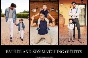 24 Most Adorable Father Son Matching Outfits On The Internet