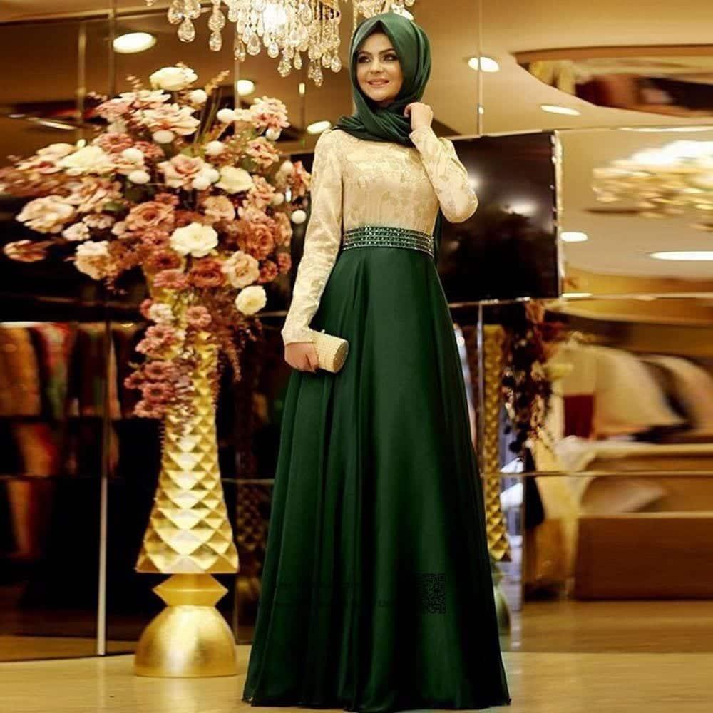 Long-Formal-font-b-Muslim-b-font-Evening-font-b-Dress-b-font-font-b-Hijab 21 Prom Outfit Ideas with Hijab - How to Wear Hijab for Prom