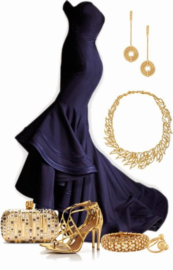 Navy-blue-prom-dresses-uk-accessories 21 Prom Outfit Ideas with Hijab - How to Wear Hijab for Prom