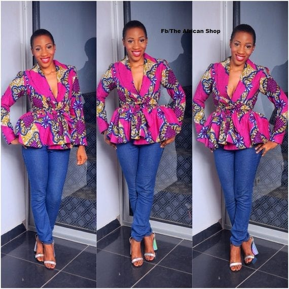 Western-Ankara-Style Cute Ankara Styles- 18 Latest Ankara Fashion Ideas for Teens