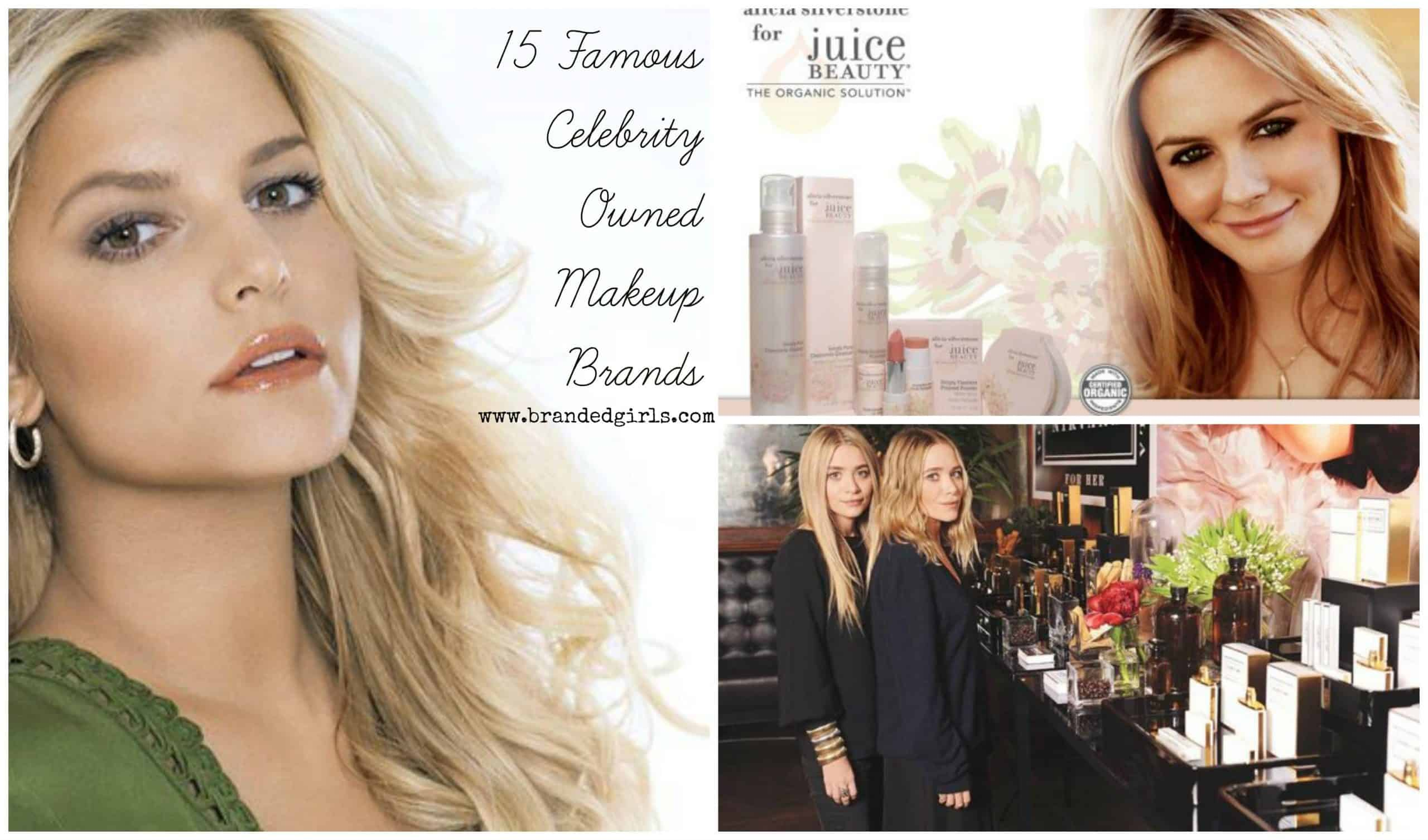 cosmetic lines owned by celebrities