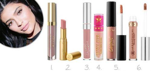 kylie-jenner1-500x238 Celebrities Makeup Brands - 15 Brands Owned by Celebrities