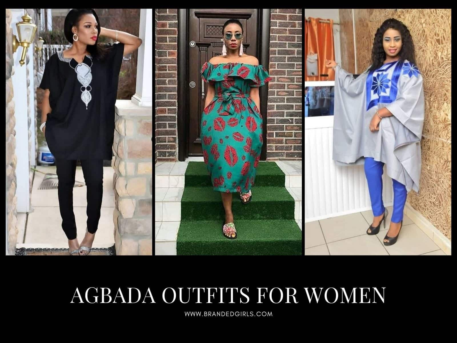 Agbada-Outfits-for-Women Agbada Outfits for Women - 20 Ways to Wear Agbada in Style