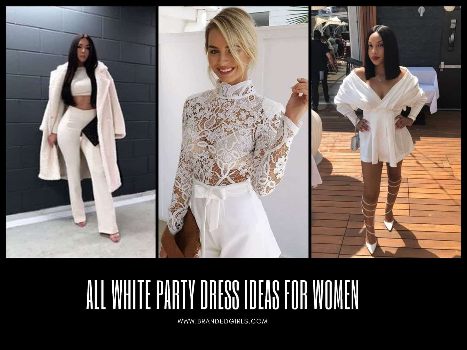 All-White-Party-Dress-Ideas-for-Women All White Party Dress Ideas for Women-19 Perfect White Outfits