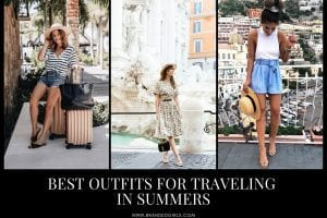 Best Outfits For Traveling in Summers for Women (1)