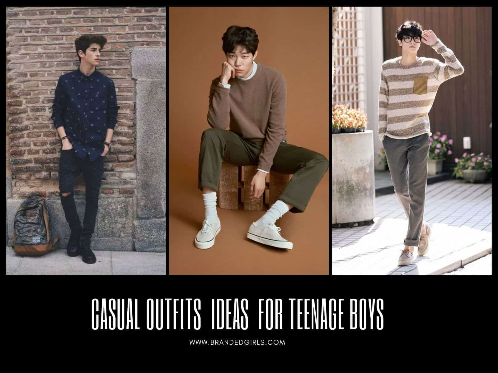 Casual-Outfits-for-Teenage-Boys Casual Fashion Ideas - 20 Casual Outfits For Teenage Boys