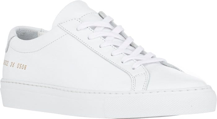 Common-Projects-Achilles-Low-Top Branded Shoes for Women-20 Best Designer Shoes to Buy in 2019